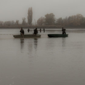 Výlov rybníka Vrkoč