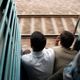 Ve vlaku do Agry