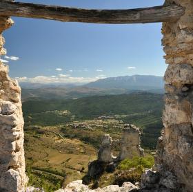 Pohled z Rocca Calascio
