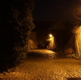 noční ulička