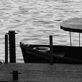 Loďka na Vltavě