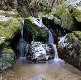 Vodopád na Boreckém potoku