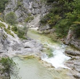 Údolí V Göstlingských Alpách