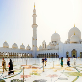 Velká mešita šejka Zayeda Abu Zabí