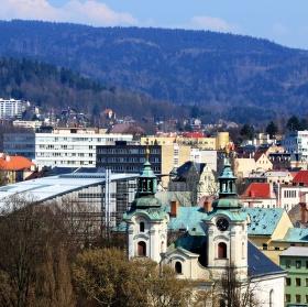 Pohled do města