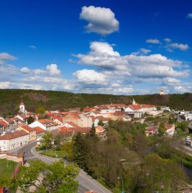 Panorama Krumlova