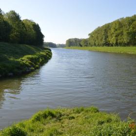 soutok Rusavy s Moravou
