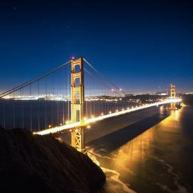 Další klišoidní fotka Golden Gate