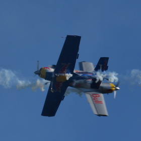 Zlín Z-50 Flying Bulls aerobatic team