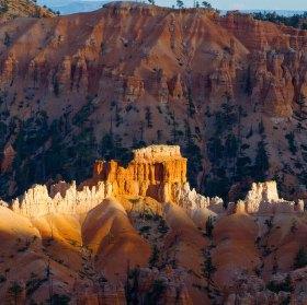 Západ slunce nad Bryce Canyon