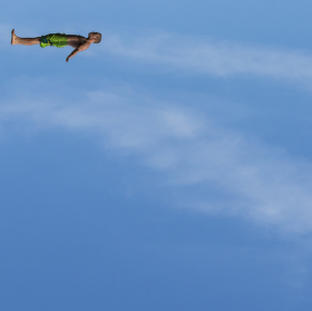 Planking ve vzduchu