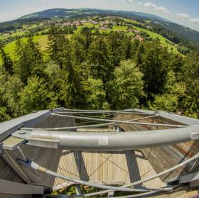 Bavorsko z ptačí perspektivi
