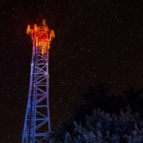 noční vysílač