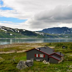Norská osada zahalena mračny