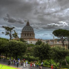 Nad bazilikou sv. Petra