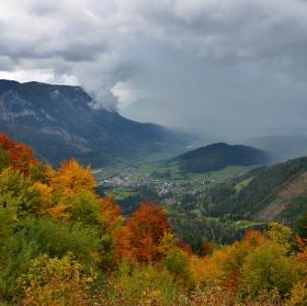 podzim v Alpách