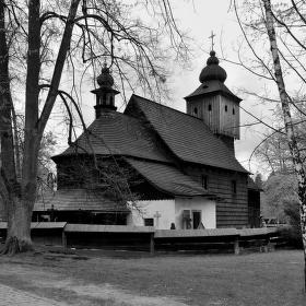 dřevěný kostel sv. Anny
