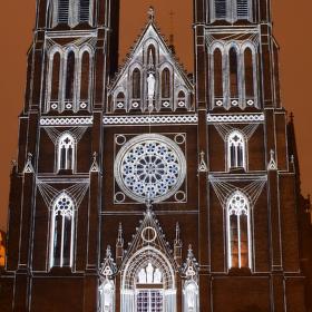 Kostel sv. Ludmily (SIGNAL Festival 2015)