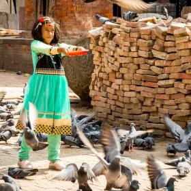 Nepálské děvče