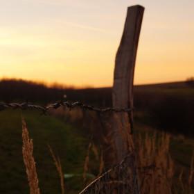 Žlutavský západ slunce