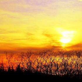 Prostě západ slunce.