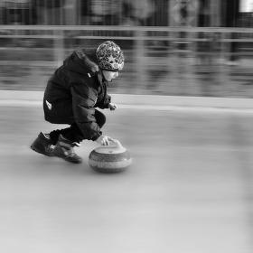 Curling Boy