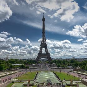 Paříž - městská krajina