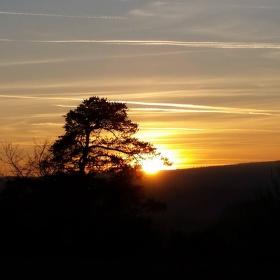 ..západ slunce ..