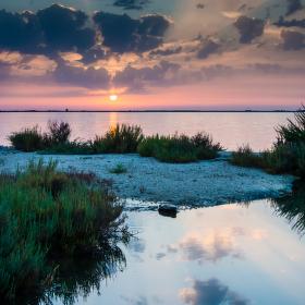 Západ slunce na Lefkádě