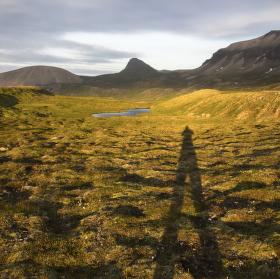 U jezera Gaesavötn Island.