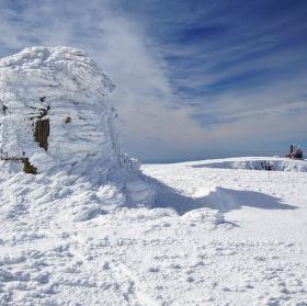 Vysoké kolo v zimě 2