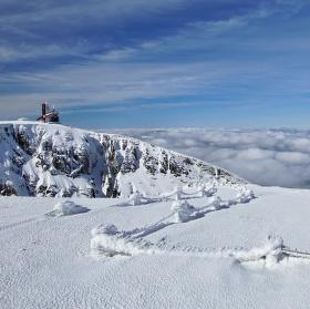 Sněžné jámy v zimě 3.