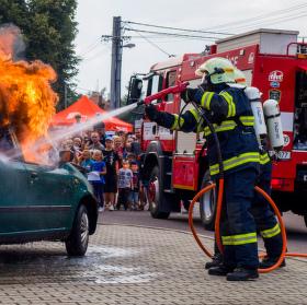 Požár automobilu
