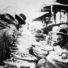 Bolívijský trh