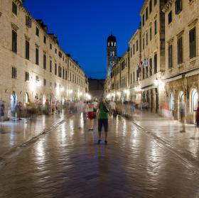 Noční Dubrovnik