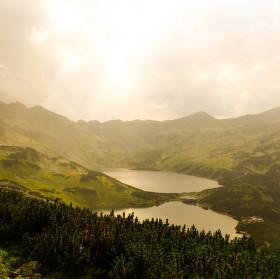 Jezera ve vysokých tatrach
