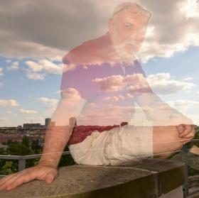 Self-portrait of my city .