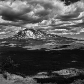 Mt Adams z vrcholu Steamboat
