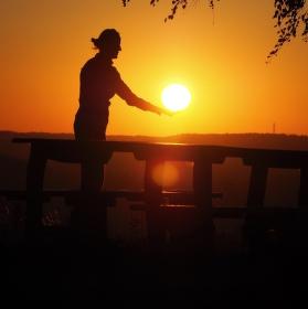 Východ slunce