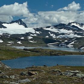 Norsko země vody a ledu