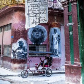 Taxi v Havaně