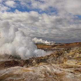 obrázky z islandské přírody 28 aneb ... všechno tu kouří