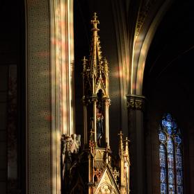 Zátiší kostela...