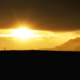 Západ slunce u Fjalladyrd