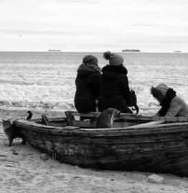 U Černého moře v zimě II