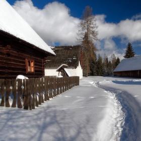 Cestičkou v snehu