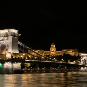 Budapešťský hrad a Řetězový most