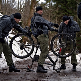 Kyklistika dřina je