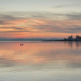 Chiemské jezero v Horním Bavorsku :-)