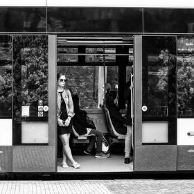 Život ve městě - tramvajová